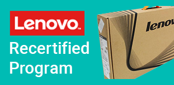 Refurbished Lenovo Thinkpad and ThinkStation products, recertified.