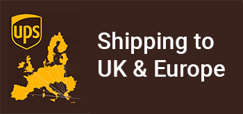 Free shipping to Europe with UPS